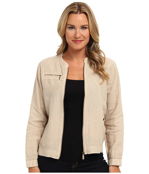 Tommy Bahama - Two Palms Seamed Jacket (Twill) Women's Coat
