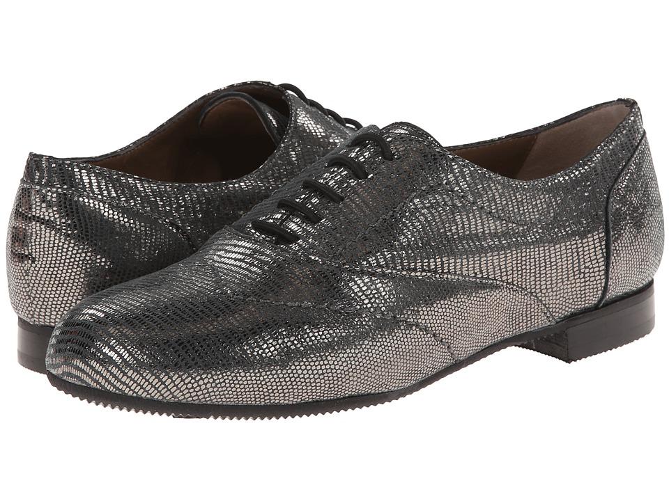 Image of Anyi Lu - Larissa (Pewter Metallic Lizard) Women's Shoes