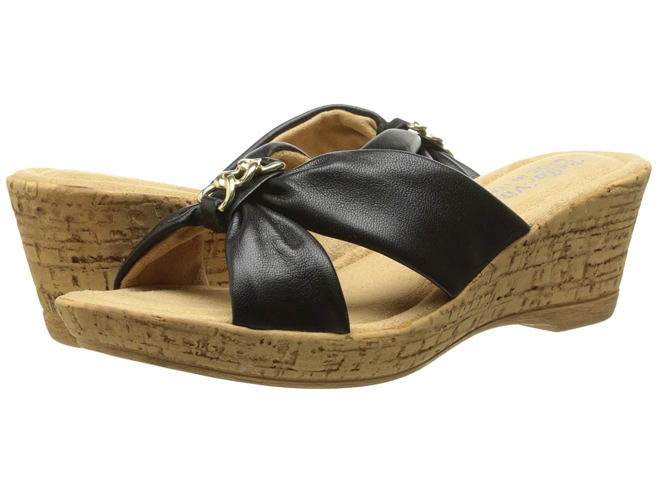 Bella-Vita - Aquila (Black) Women's Sandals