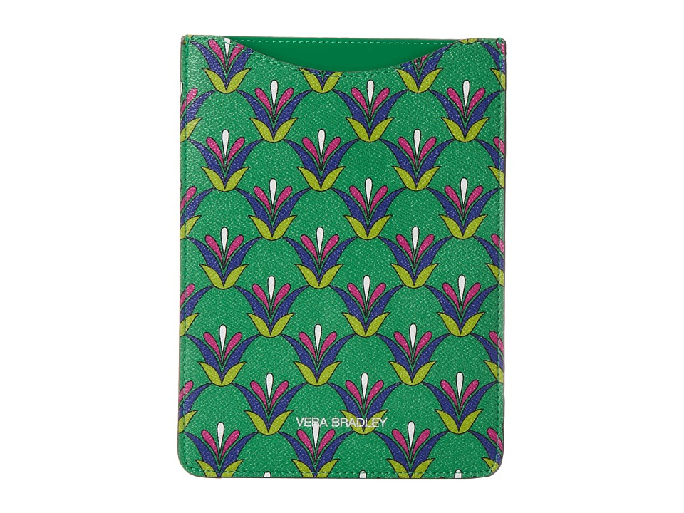 Vera Bradley - Mini Slim Tablet Sleeve (Emerald Diamonds) Computer Bags