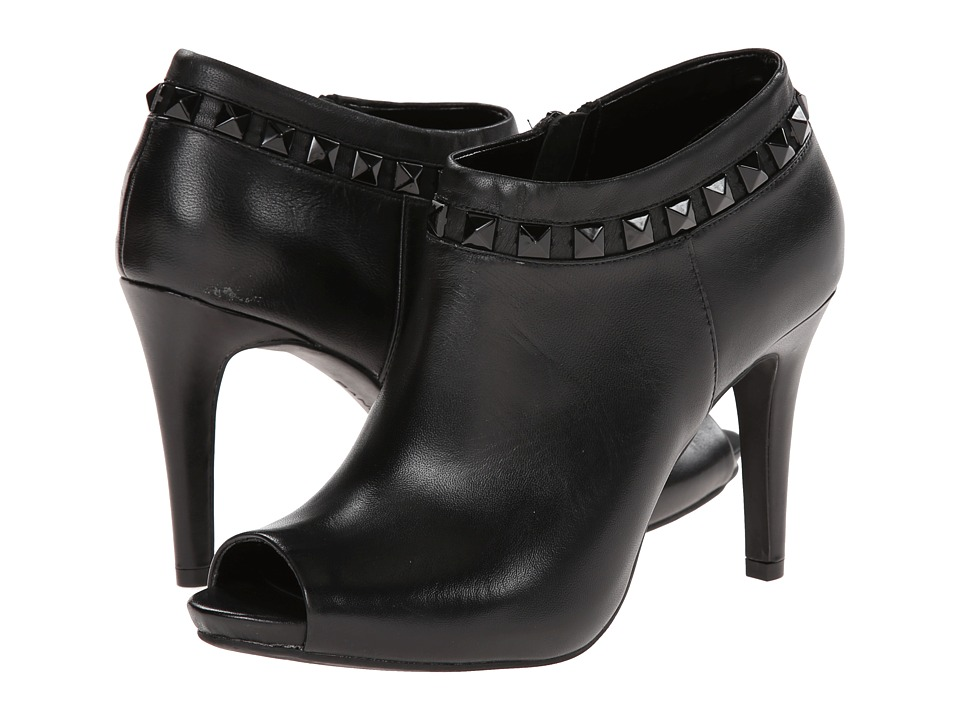 Bandolino - Evangeline (Black Leather) Women's Shoes