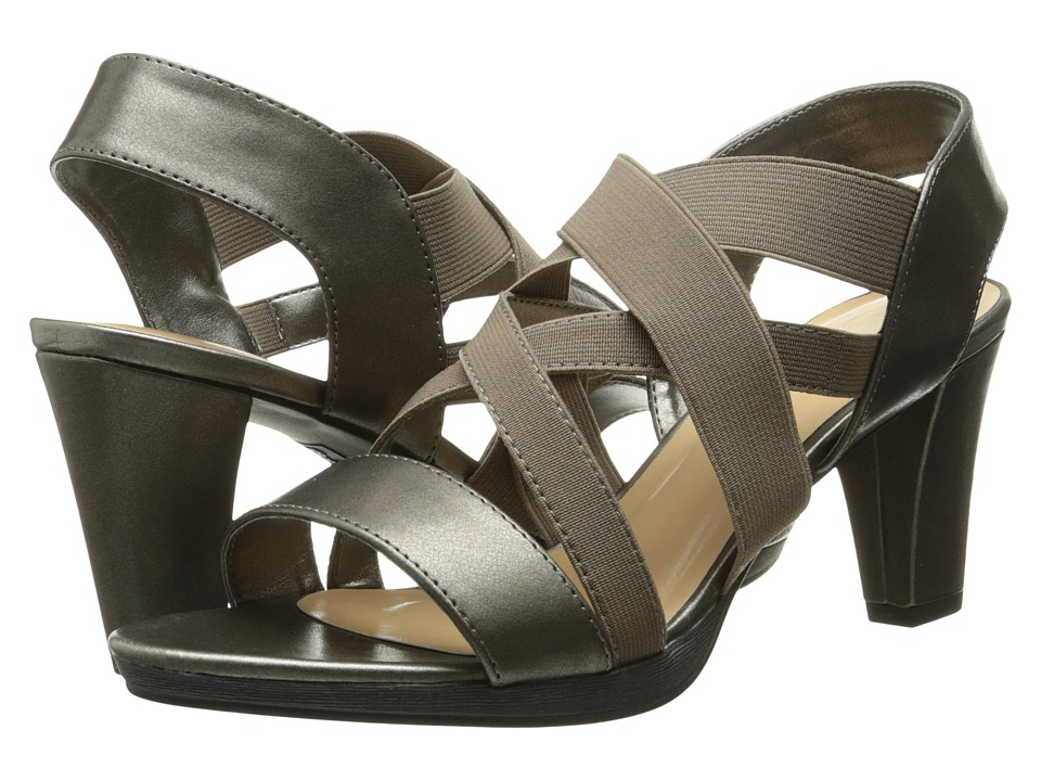 Bella-Vita - Leeza (Pewter/Stretch) Women's Sandals