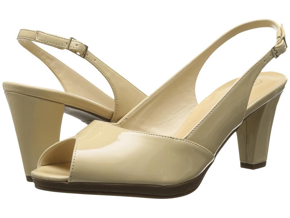 Bella-Vita - Liset II (Nude Patent) Women's Sandals