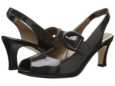 Anyi Lu - Tulip (Graphite Patent) High Heels
