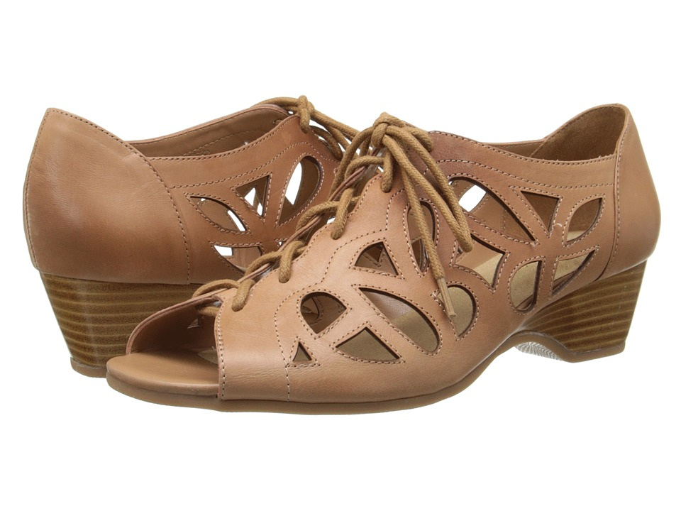 Bella-Vita - Pixie (Camel Leather) Women's Sandals