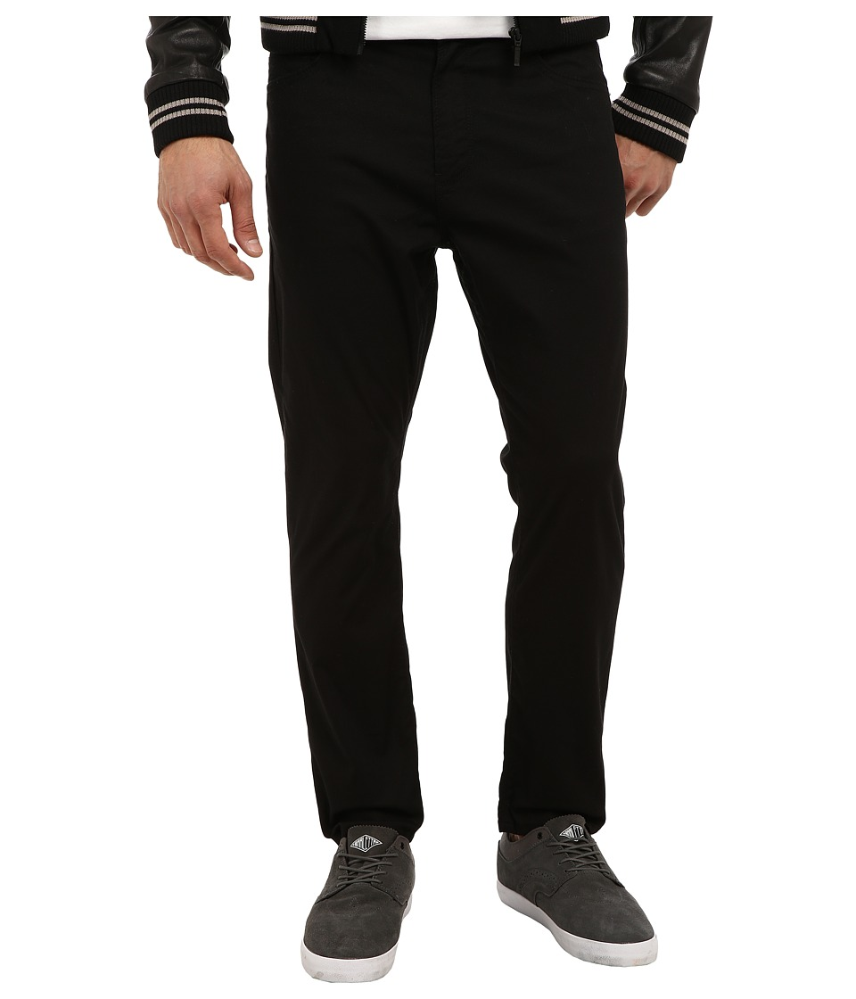 Howe - New Slang Drop Crotch Pant (Black) Men