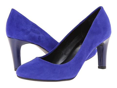 Bandolino - Lantana (Blue Suede) High Heels