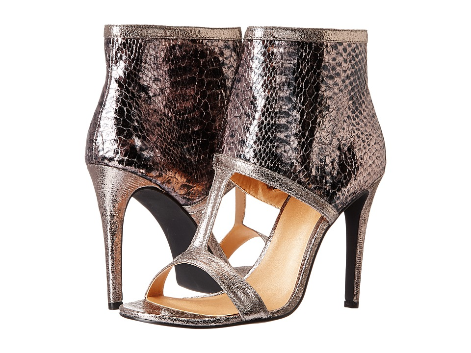 Luichiny - Double Digit (Pewter/Pewter Snake) High Heels