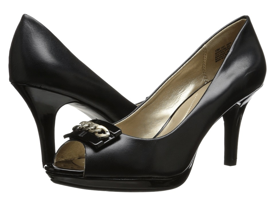 Bandolino - Sheerbliss (Black Leather) Women's Shoes