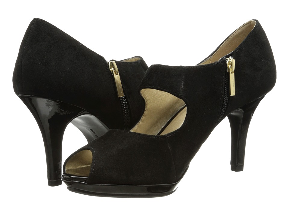 Bandolino - Startview (Black Suede) High Heels