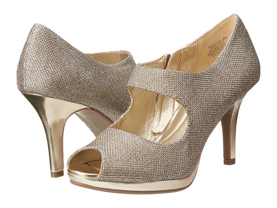 Bandolino - Startview (Gold Fabric) High Heels