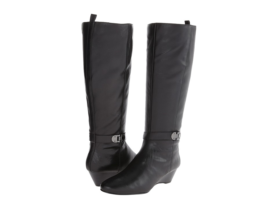 Bandolino Adanna Wide Calf (Black Leather) Women