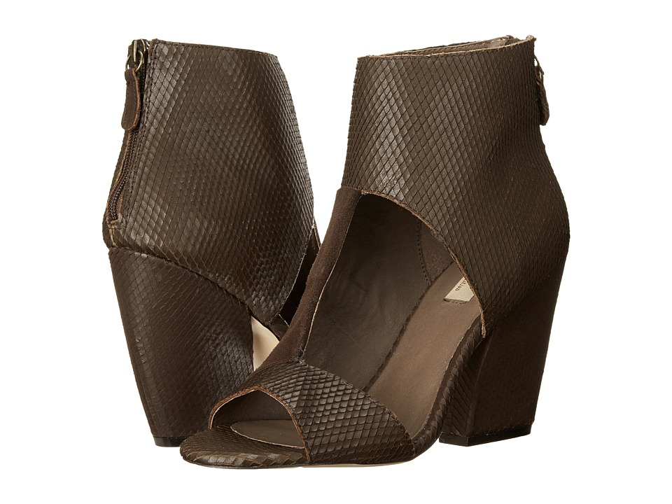 MIA - MLE - Rogue (Brown Snkae) Women's Wedge Shoes