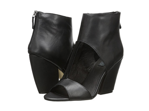 MIA - MLE - Rogue (Black Leather) Women's Wedge Shoes