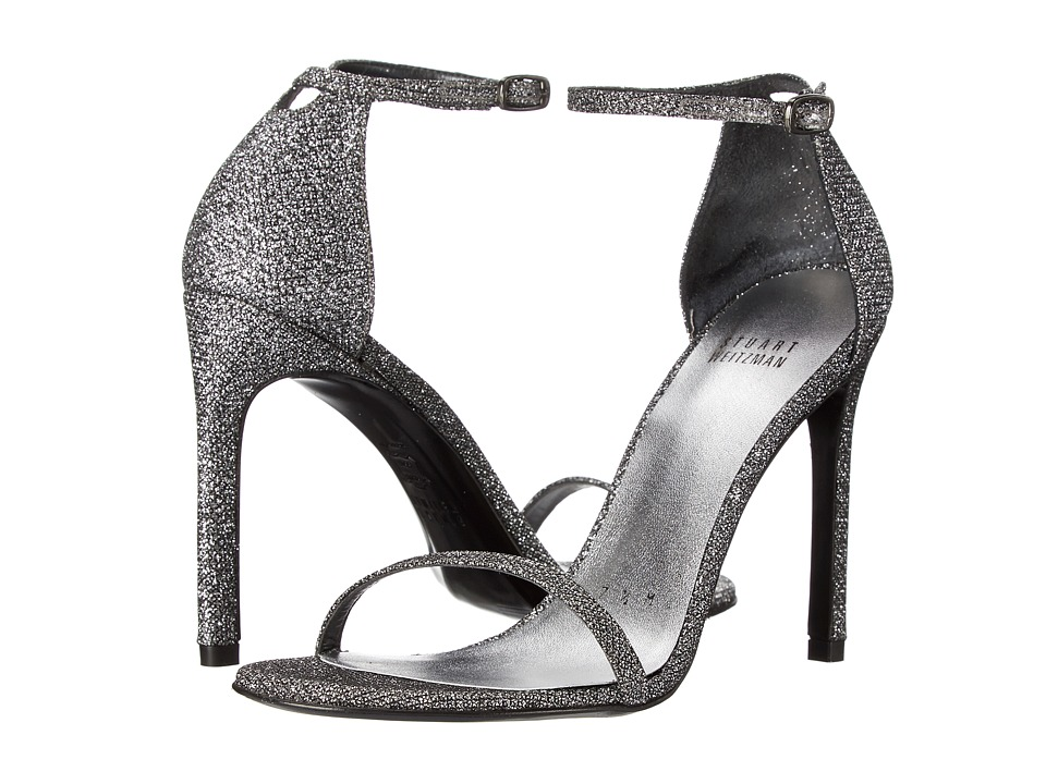 Stuart Weitzman Bridal & Evening Collection Nudistsong (Pewter Noir) High Heels