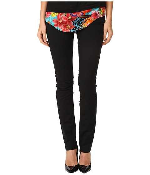 Versace Jeans - Black Slim Fit Jeans (Nero) Women's Jeans