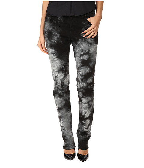 Versace Jeans - Tie-Dye Slim Fit Jeans (Nero) Women