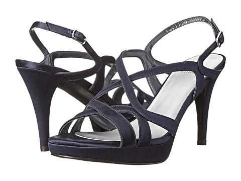 Stuart Weitzman Bridal & Evening Collection - Axis (Navy Satin) High Heels