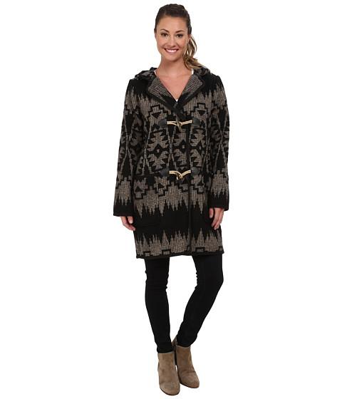 Woolrich - Mill Wool Duffle Coat (Black) Women