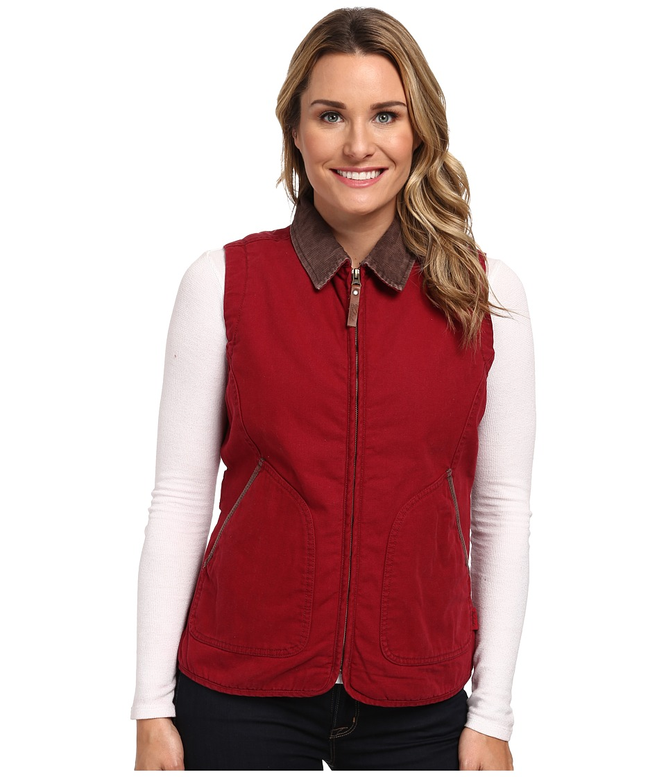 Woolrich - Dorrington Vest (Deep Ruby) Women