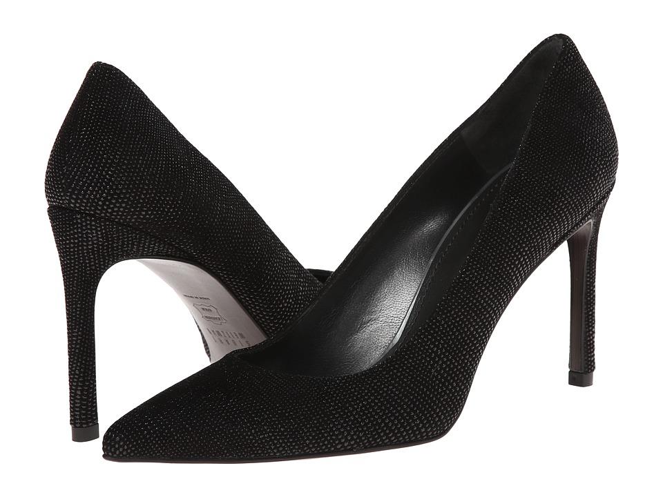 Stuart Weitzman - Heist (Black Goosebump Nappa) High Heels