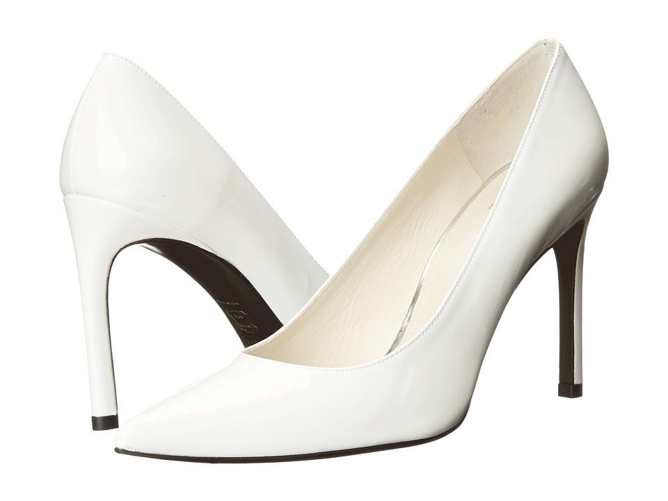 Stuart Weitzman - Heist (White Patent) High Heels