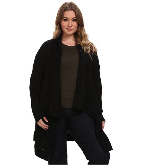 BB Dakota - Plus Size Stegner Sweaters (Black) Women