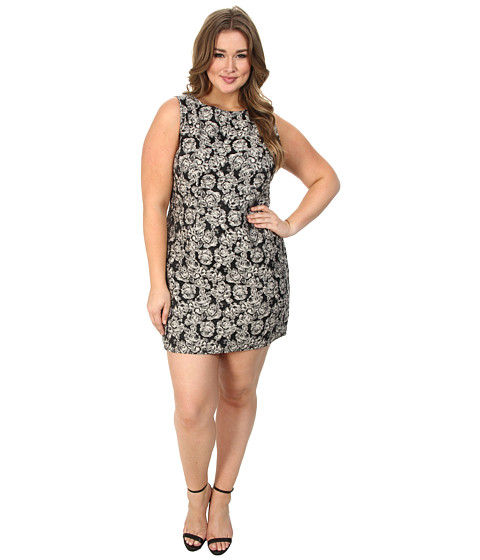 BB Dakota - Plus Size Neviah Dresses (Black) Women's Dress