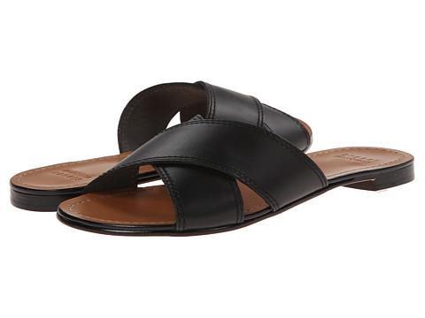 Stuart Weitzman - Byway (Black Vachetta) Women's Sandals