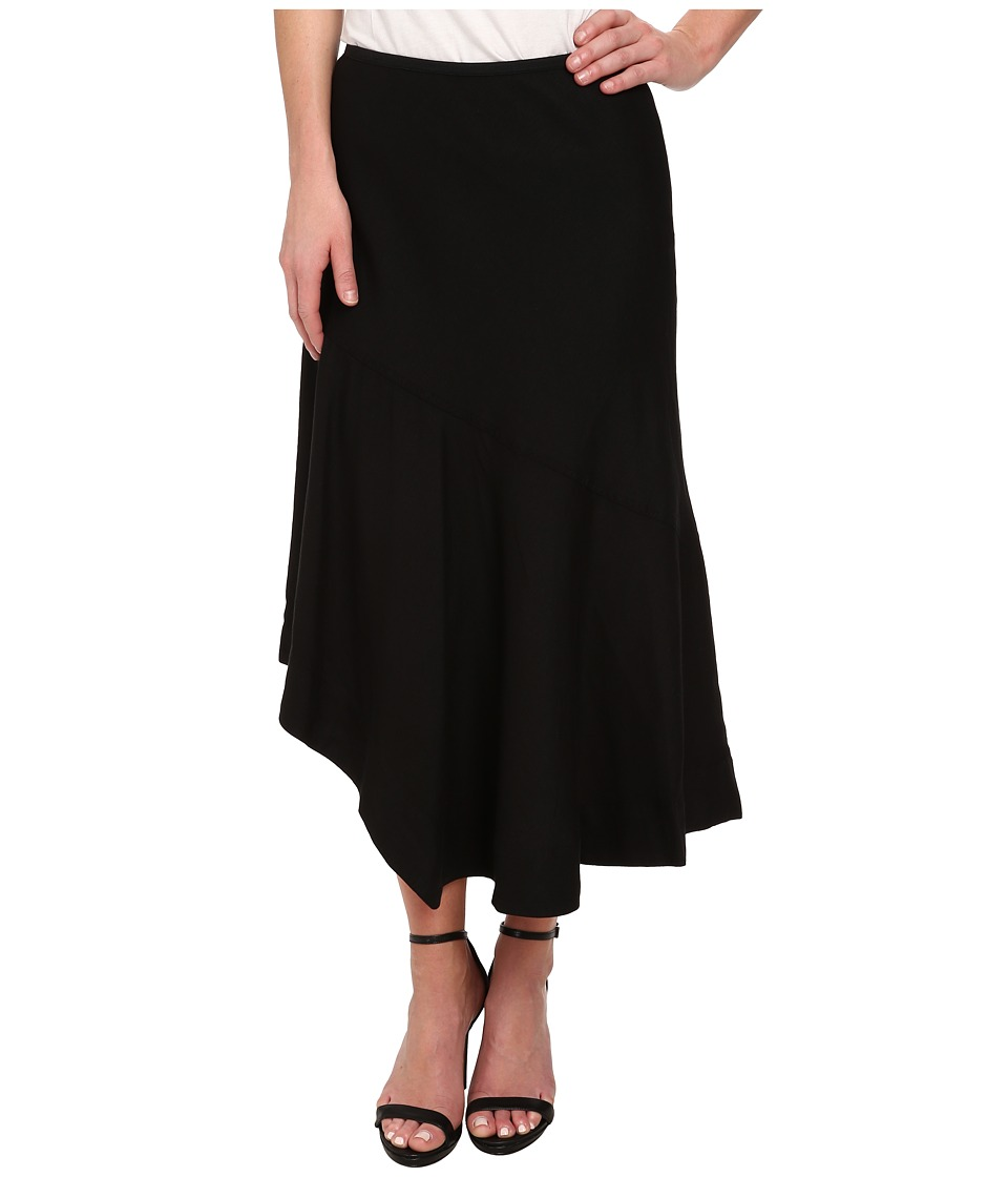 NIC+ZOE - Long Engagement Skirt (Black) Women's Skirt