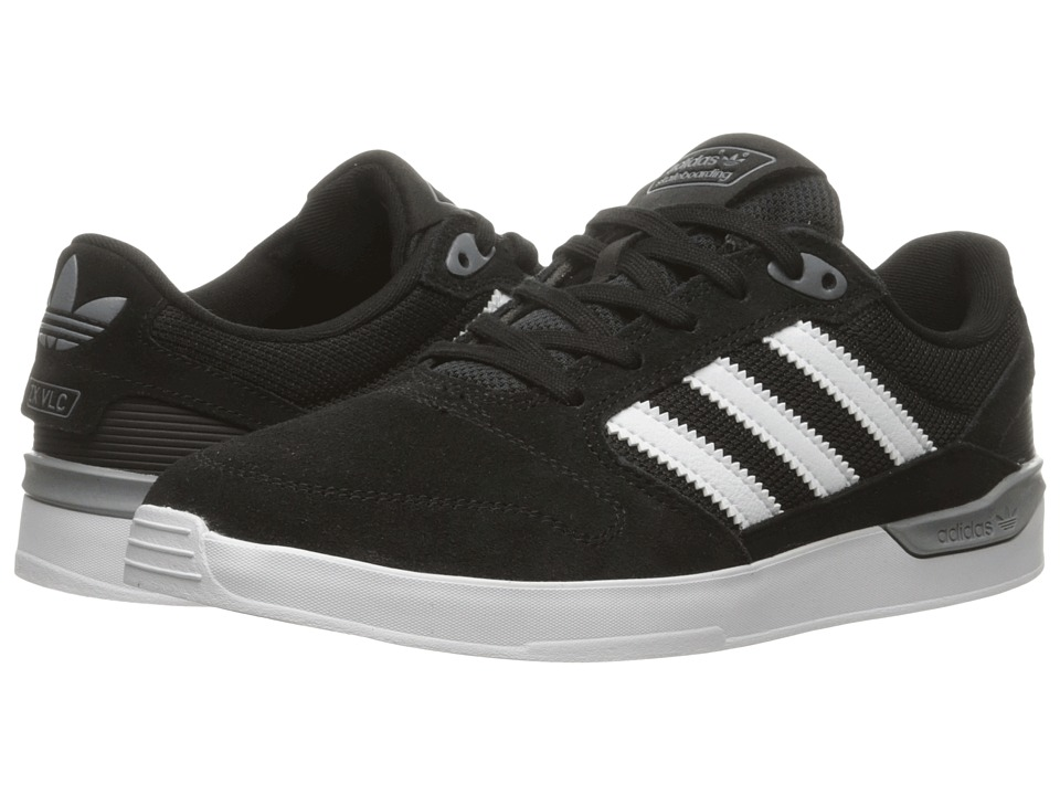 adidas Skateboarding - ZX Vulc (Black/White) Men's Skate Shoes