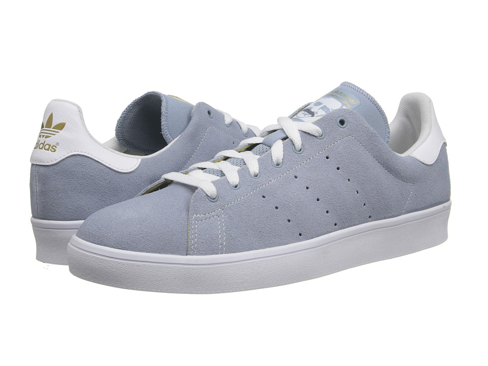 adidas Skateboarding - Stan Smith (Dust Blue/White/White) Men's Skate Shoes