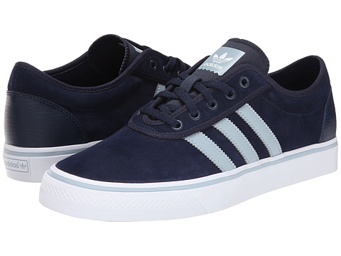 adidas Skateboarding - Adi-Ease (Collegiate Navy/Dust Blue/White) Men's Skate Shoes