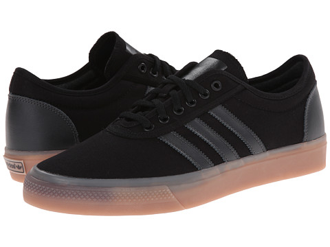 adidas Skateboarding - Adi-Ease (Core Black/Core Black/Solid Grey) Men's Skate Shoes