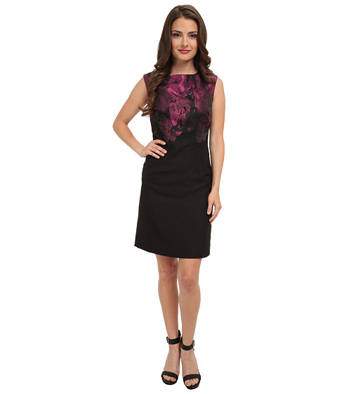 Tahari by ASL Petite - Petite EileenLee (Black/Purple) Women