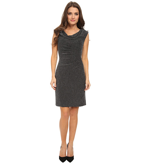 Tahari by ASL Petite - Petite Carly (Black/Silver) Women