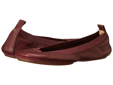Yosi Samra - Samara Soft Leather Fold Up Flat (Tawny Port) Women