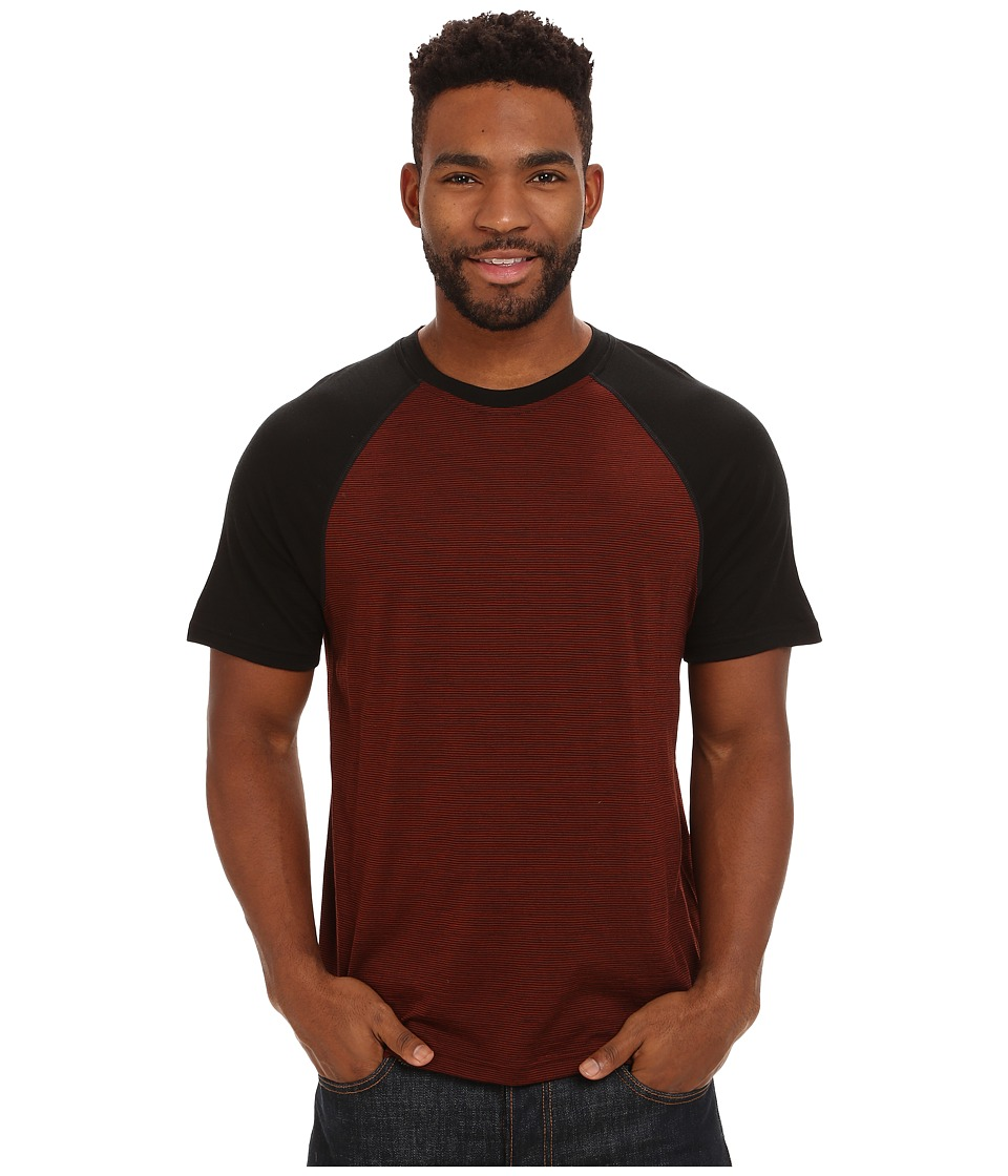 Smartwool - NTS Micro 150 Combo Tee (Cinnamon) Men's T Shirt
