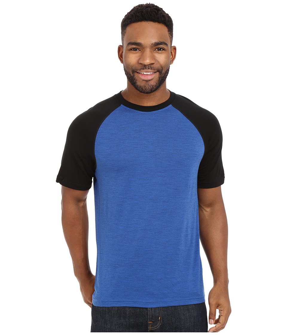 Smartwool NTS Micro 150 Combo Tee (Bright Blue) Men