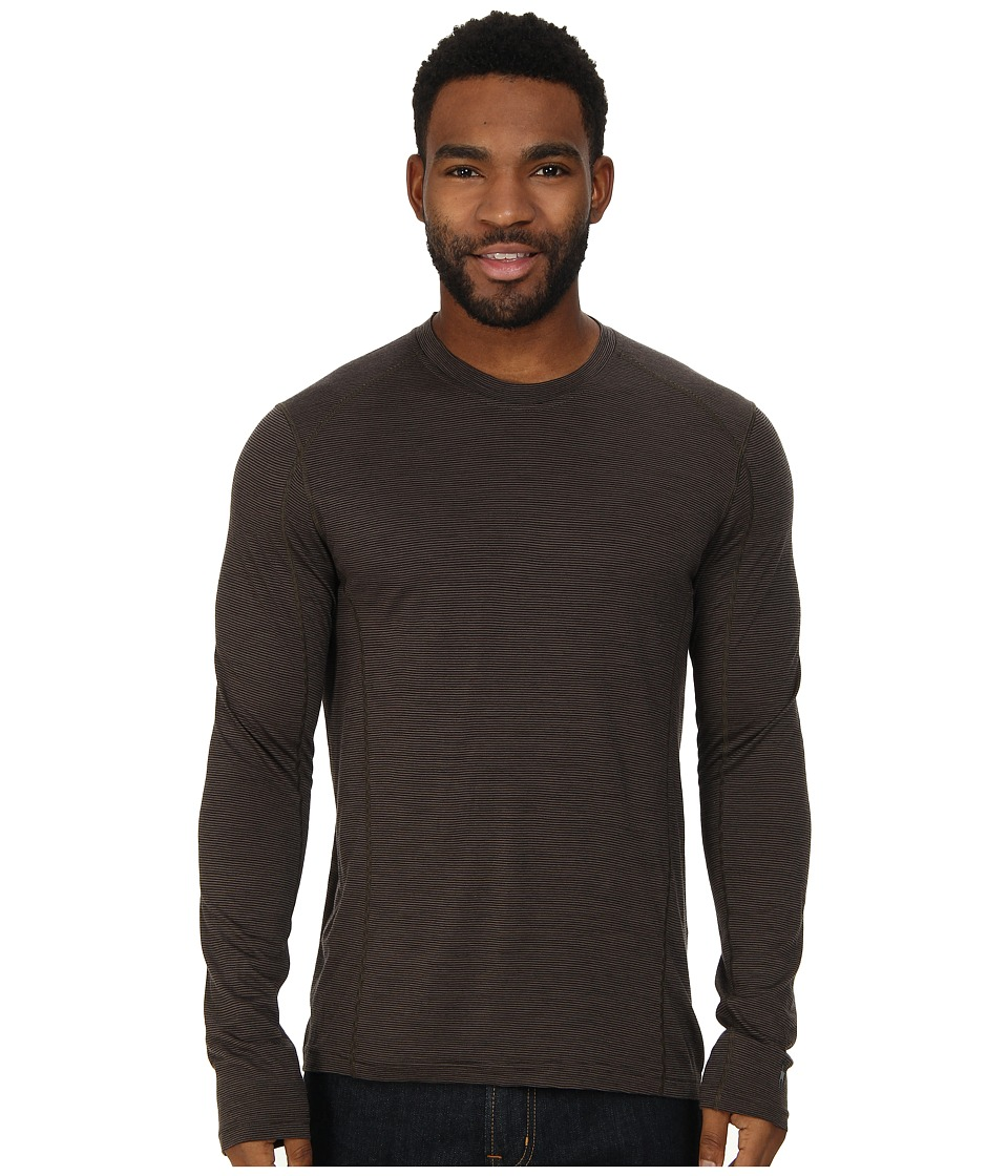 Smartwool - NTS Micro 150 Pattern Crew Neck (Taupe) Men's Long Sleeve Pullover