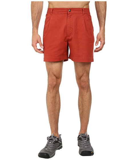 Royal Robbins - Classic Billy Goat Cotton Canvas Short (Brick) Men