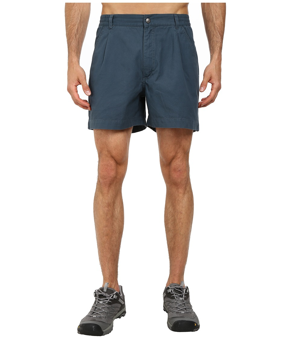 Royal Robbins - Classic Billy Goat Cotton Canvas Short (Lagoon) Men's Shorts