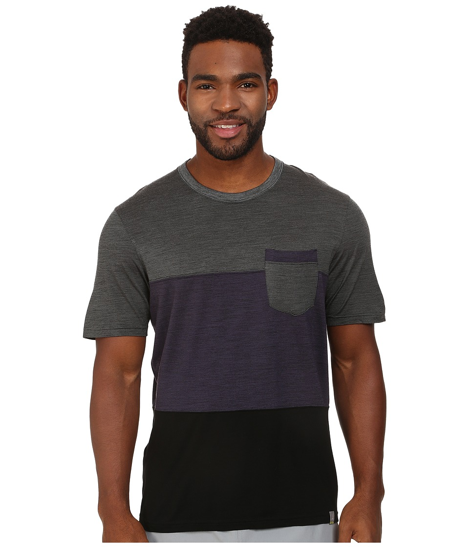 Smartwool - Routt County Tee (Charcoal) Men