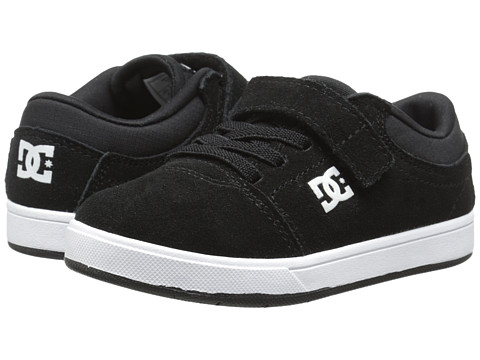 DC Kids - Crisis (Toddler) (Black/Black/White Multi Snake) Boys Shoes