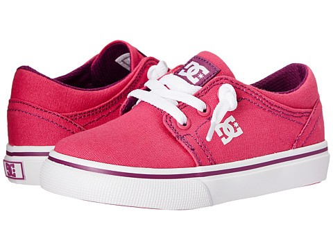 DC Kids - Trase TX (Toddler) (Fuchsia) Girls Shoes