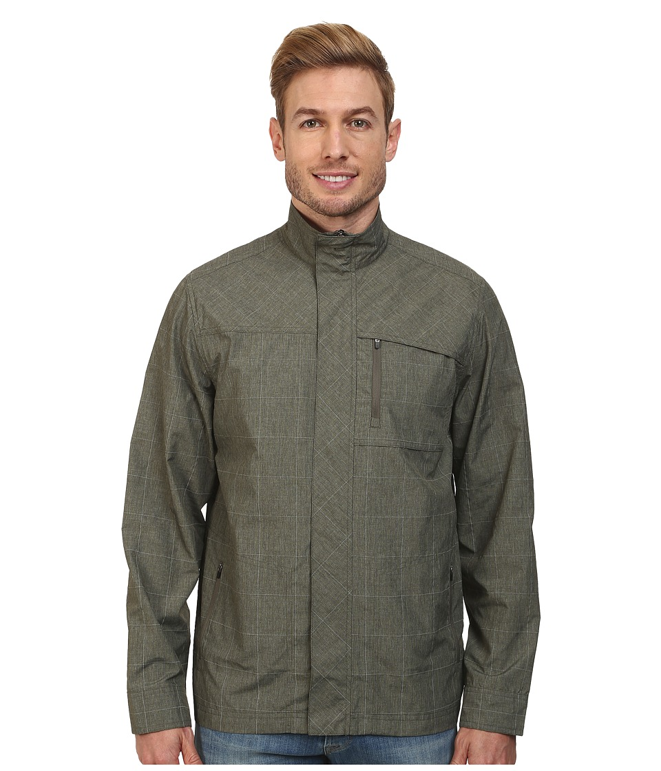 Royal Robbins - Lucent Travel Jacket (Light Olive) Men's Coat