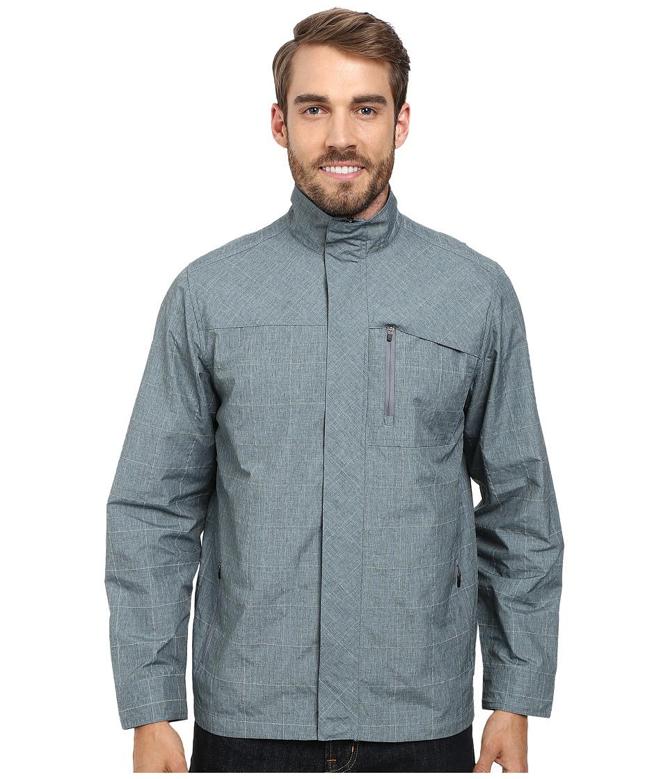 Royal Robbins Lucent Travel Jacket (Steel Blue) Men