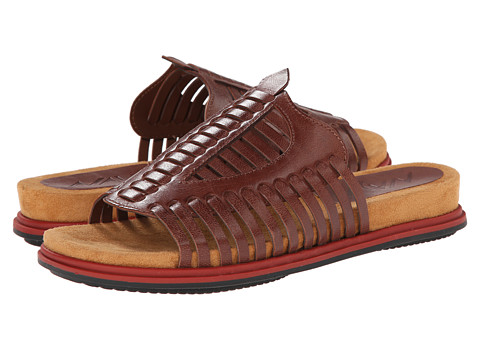 Naya - Kicker (Burnt Caramel Leather) Women's Sandals