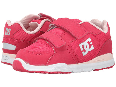 DC - Forter V (Toddler) (Crazy Pink/White) Women