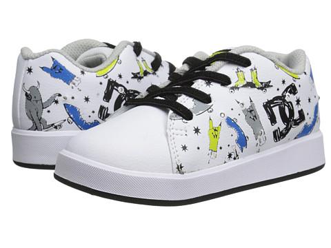 DC - Phos (Toddler) (White/Black/Print) Men